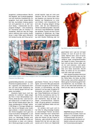 JournalistenBlatt 2|2015